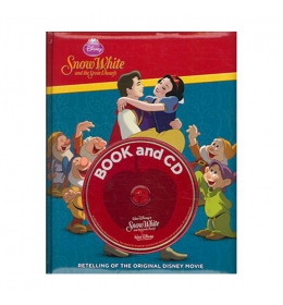 Snow White knjiga i CD